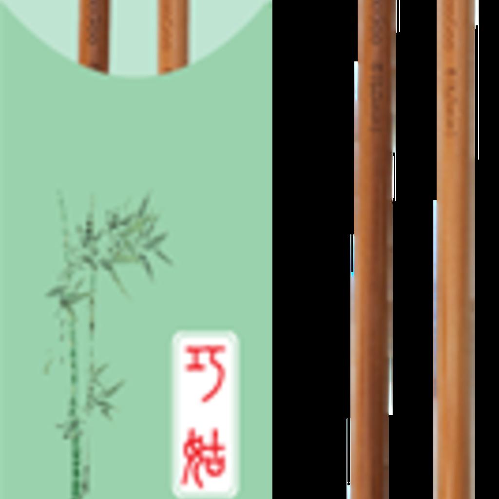 "ChiaoGoo Bamboo Single Point 9"""