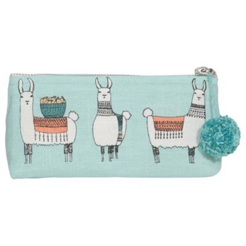 Danica Llamarama Pencil Cosmetic Bag
