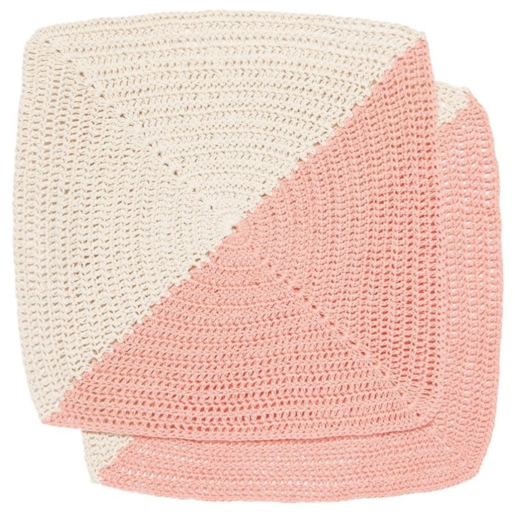 Danica Angle Crochet Dishcloth - 2 pk