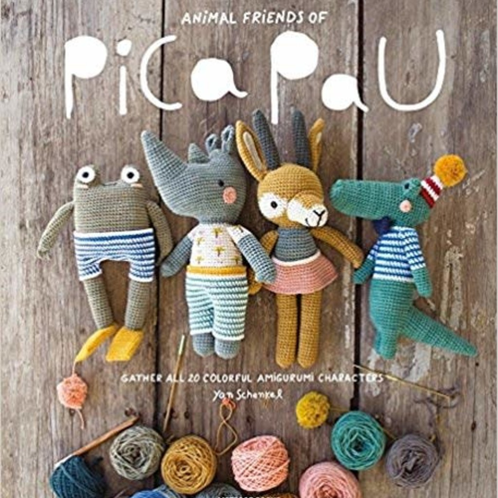 Animal Friends of Pica Pau by Yan Schenkel