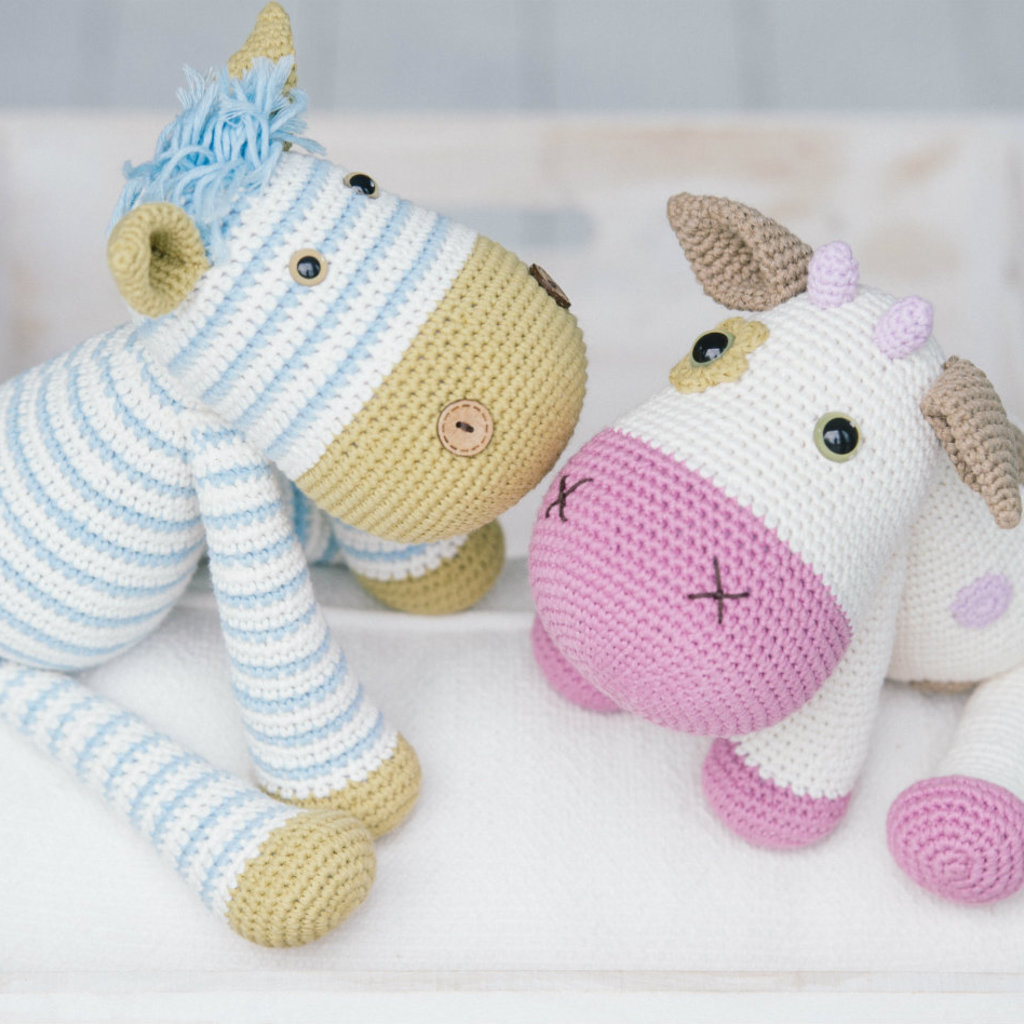 Cuddly Amigurumi Toys by Mari-Liis Lillie
