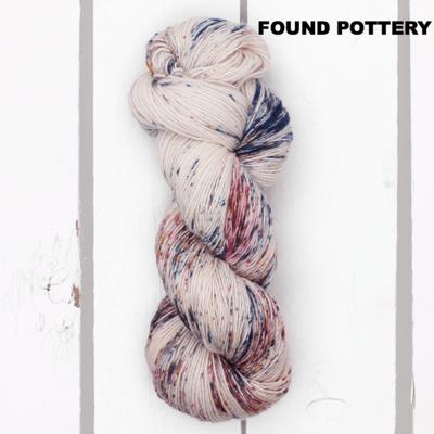 Madelinetosh Merino Light  Found Pottery