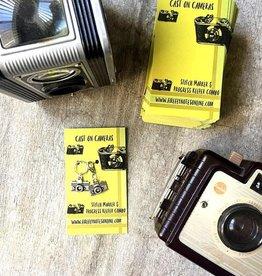 Firefly Notes Cast on Cameras Stitch Marker & Progress Keeper