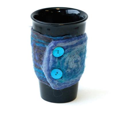 Schoppel Wolle Art Felt Coffee Cosy - Cuffs
