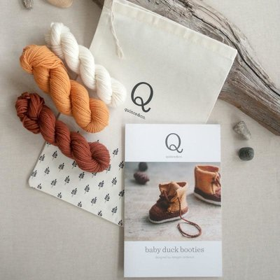 Quince & Co. Baby Duck Booties Kit