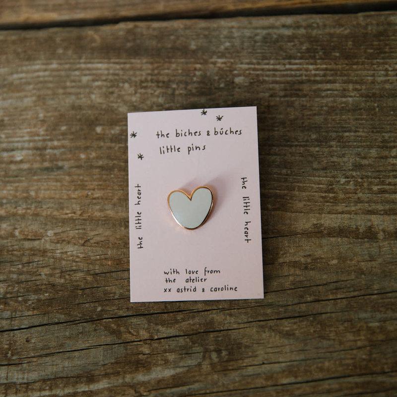 Biches & Bûches The Little Heart Pin