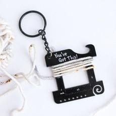 Twill & Print Keychain Multi Tool