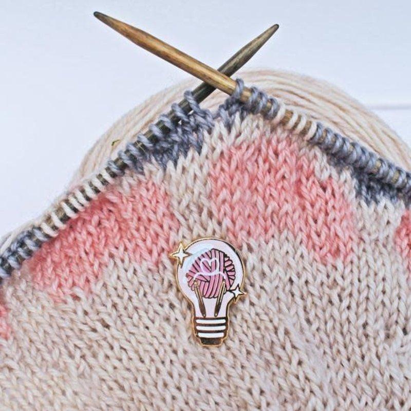 Twill & Print Bright Idea Enamel Pin