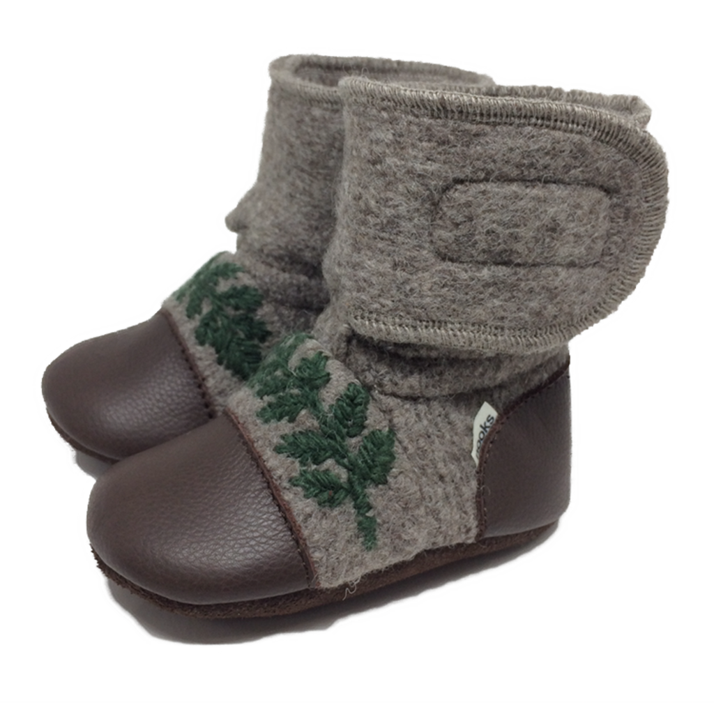 Nooks Design Felted Booties