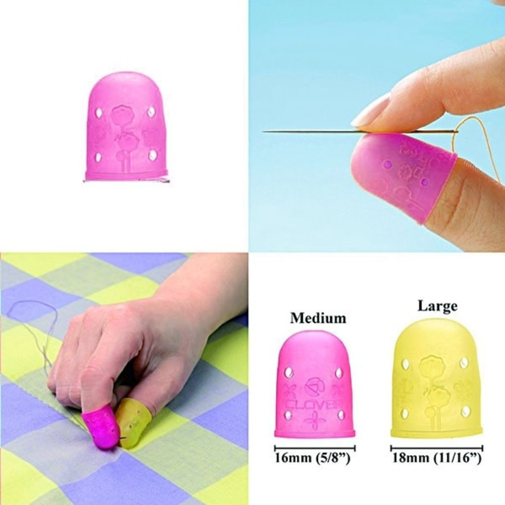 Clover Rubber Thimble