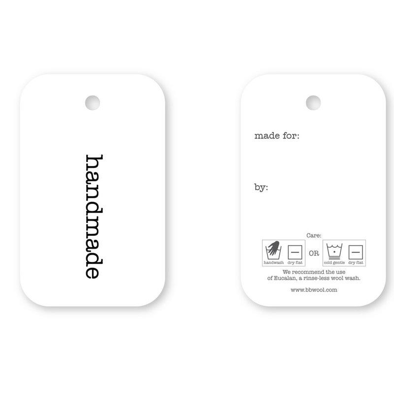 Handmade Gift Tag - 4 tags