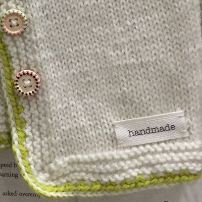 Handmade Sewn-In Label - 2pk