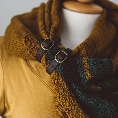 Tiny Shawl Belt - Light Brown