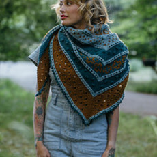 Golden Hour Shawl - Thursday Afternoon