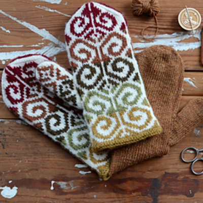 Fiddlehead Mittens - Wednesday Afternoon