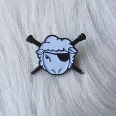 Spincycle Sheep Enamel Pin