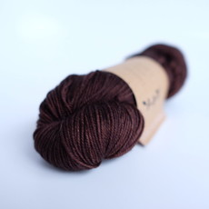 Lichen And Lace 80/20 Sock - Black Walnut