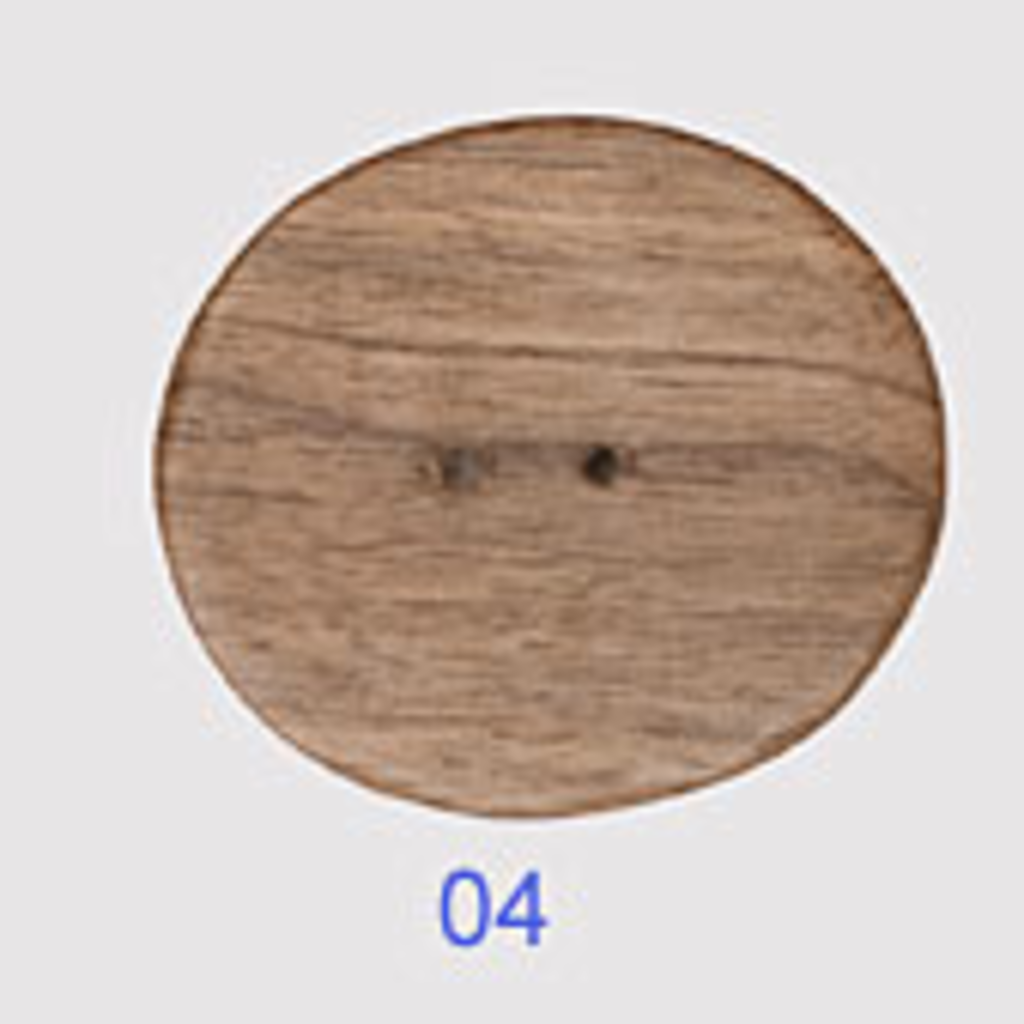 "Wood Oval (1 3/4"")"