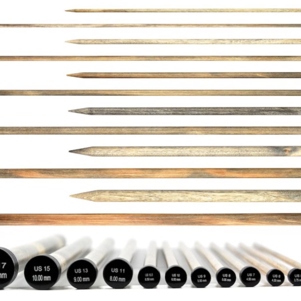 """Lykke Driftwood 10"""" Straight Needle"""