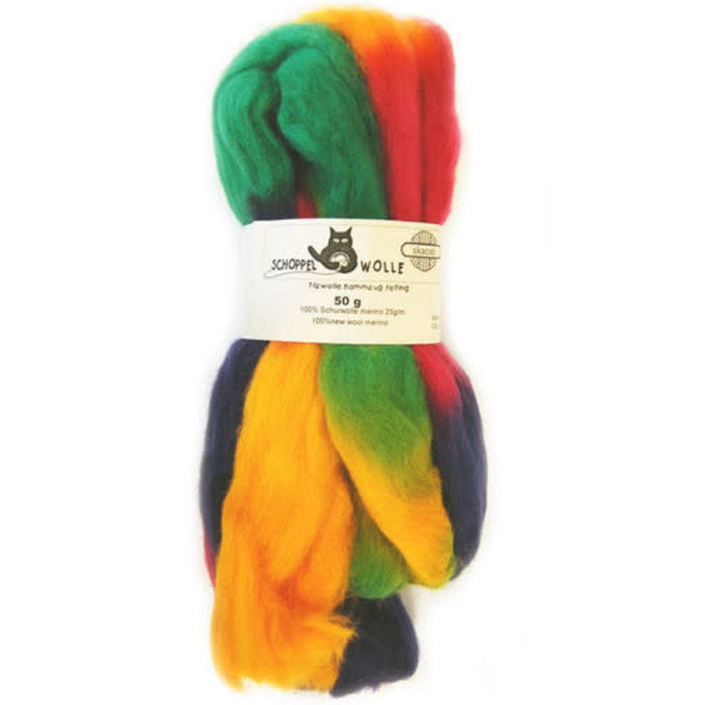 Schoppel Wolle Art Felt Roving Multi