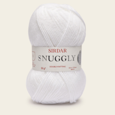 Sirdar Snuggly DK - White (251)