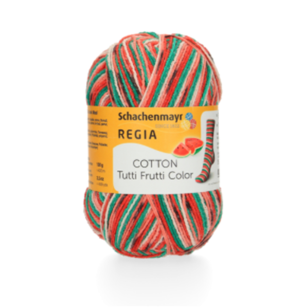 Regia Cotton Color Tutti Frutti II - Watermelon