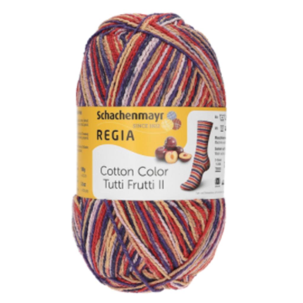 Regia Cotton Color Tutti Frutti II - Plum