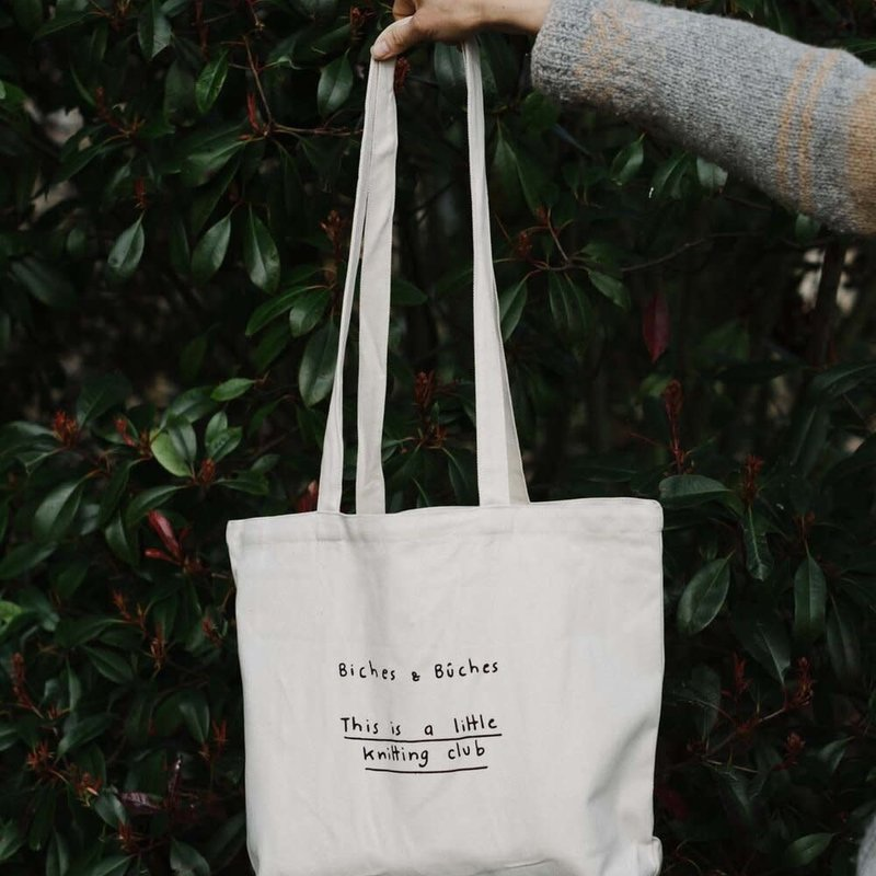 Biches & Bûches Knitting Club Project Bag