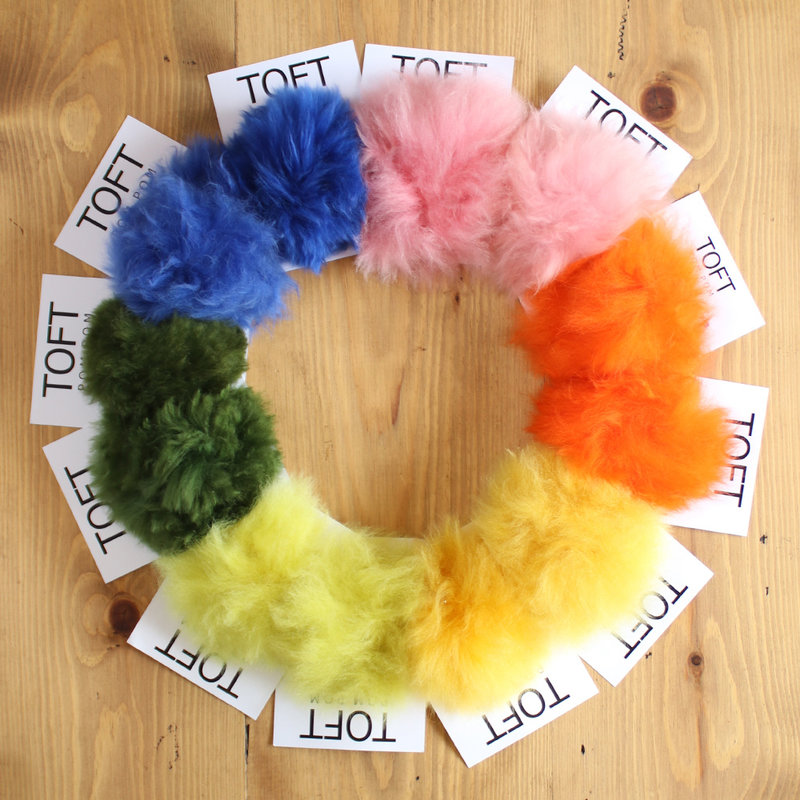 Toft Alpaca Coloured Pompoms