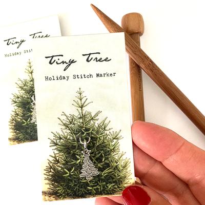 Tiny Tree Stitch Progress Keeper (removable)