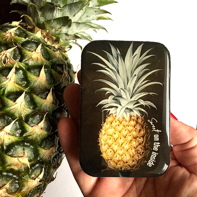 Pineapple Notions Tin