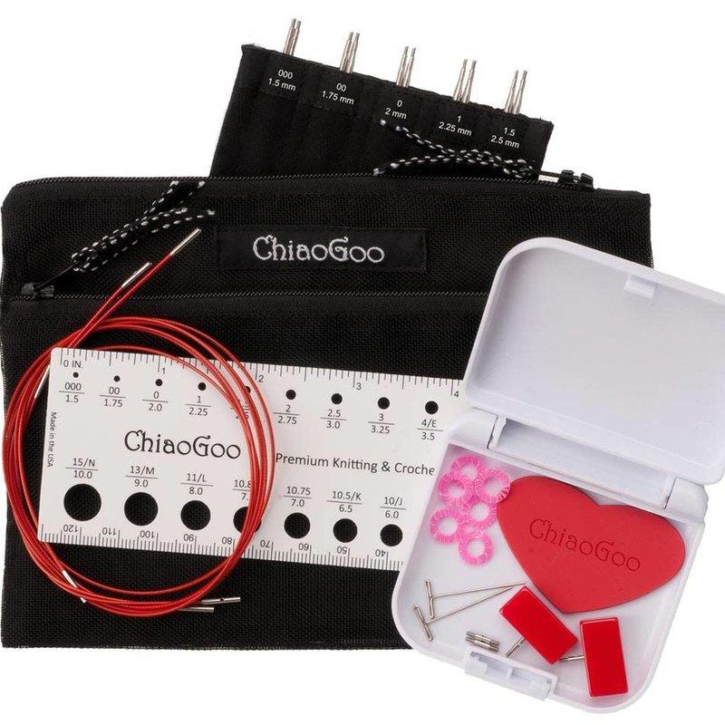 ChiaoGoo Twist Red Lace Mini Set
