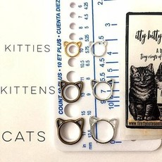 Firefly Cat Stitch Markers