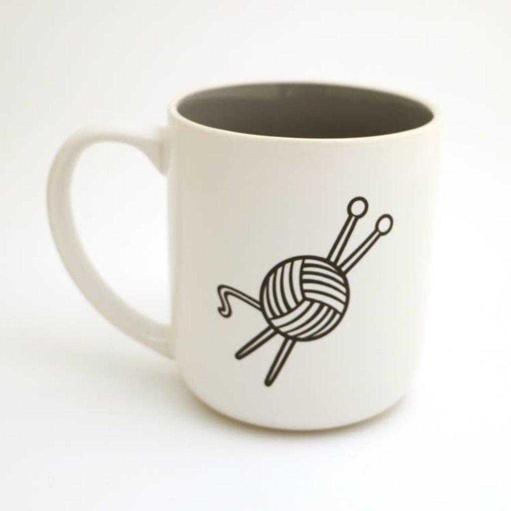 Knitting Introverted  Mug