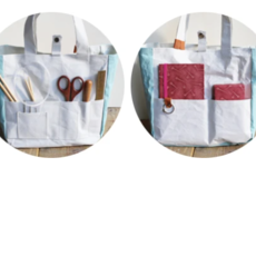 Project Bag of Hand-Dyed Washi