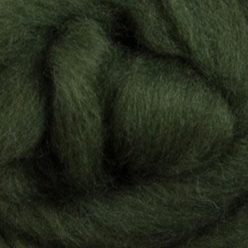 Ashford Corriedale 100G Pack - Fern Green
