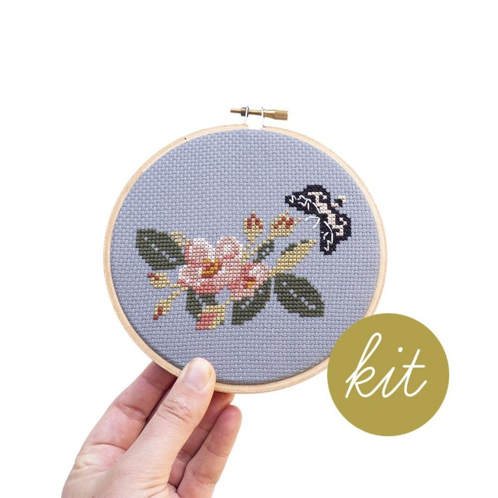 Junebug and Darlin Cross Stitch Kit