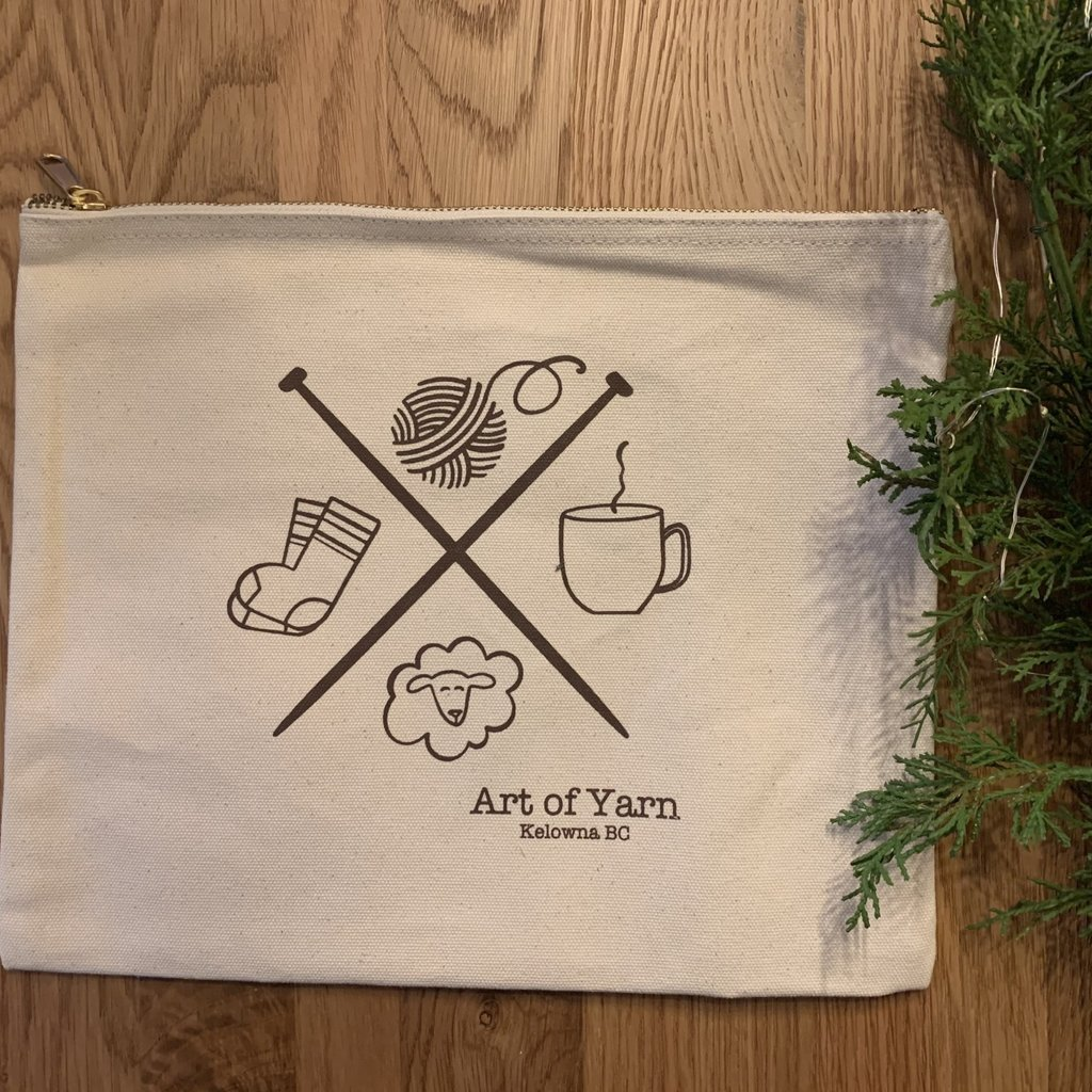 AOY Zippered Project Bag