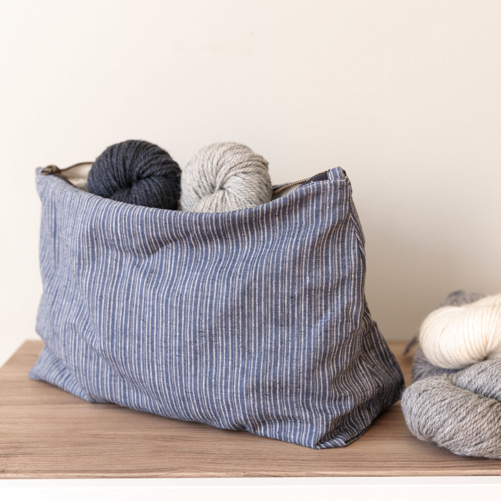 Twig & Horn Large Hemp Project Pouch