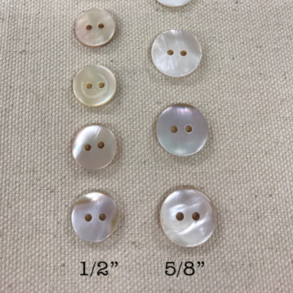 Mother of Pearl Shell Buttons