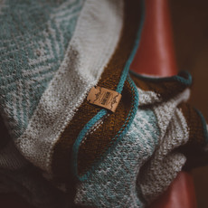 Label - Handmade Thin Tan Leather (4pcs)