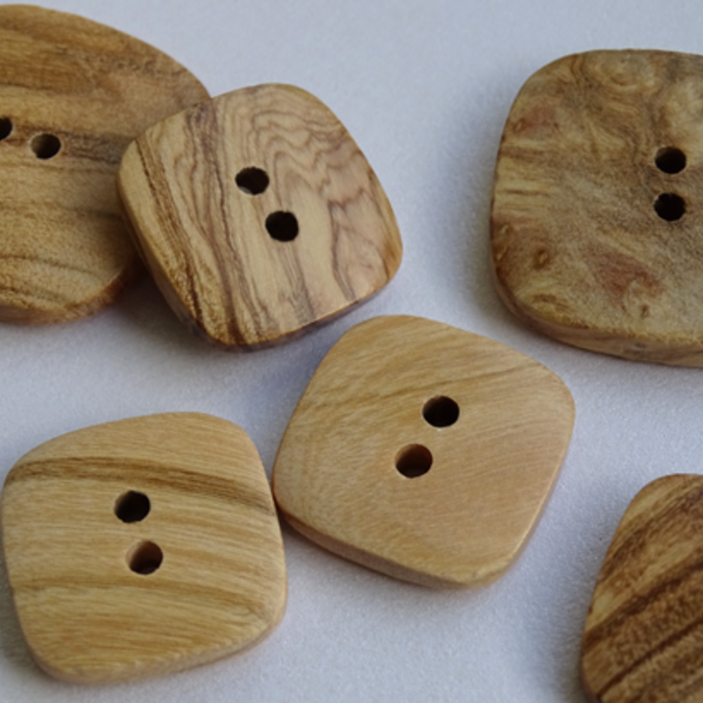 Seco Knopf Wood Button Nature