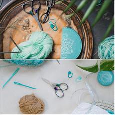 Knitter's Pride Rainbow Folding Scissors