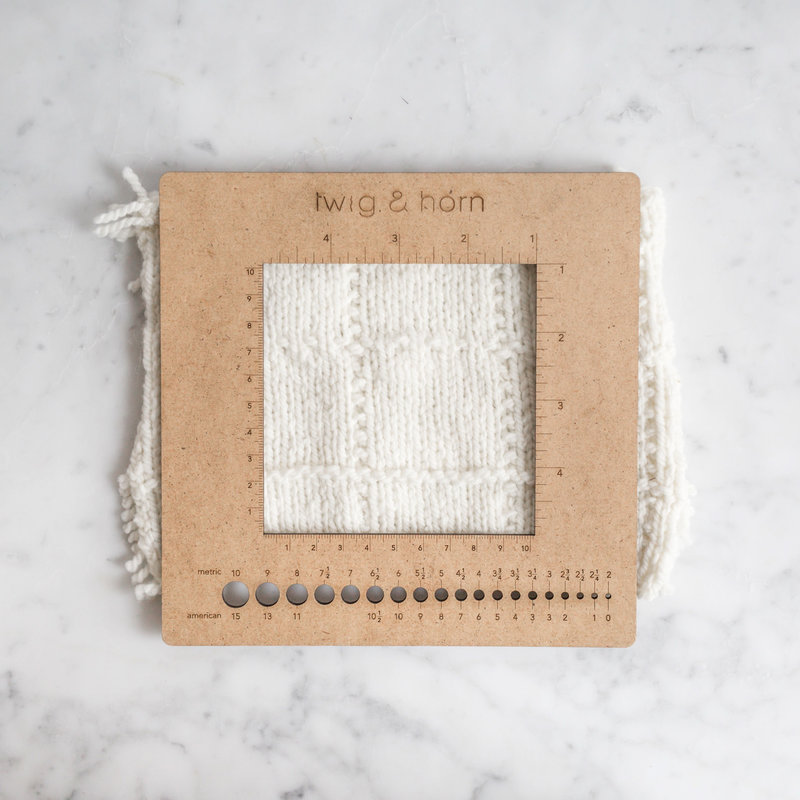 Twig & Horn Square Gauge Ruler