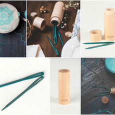 Knitter's Pride Teal Wooden Darning Needle