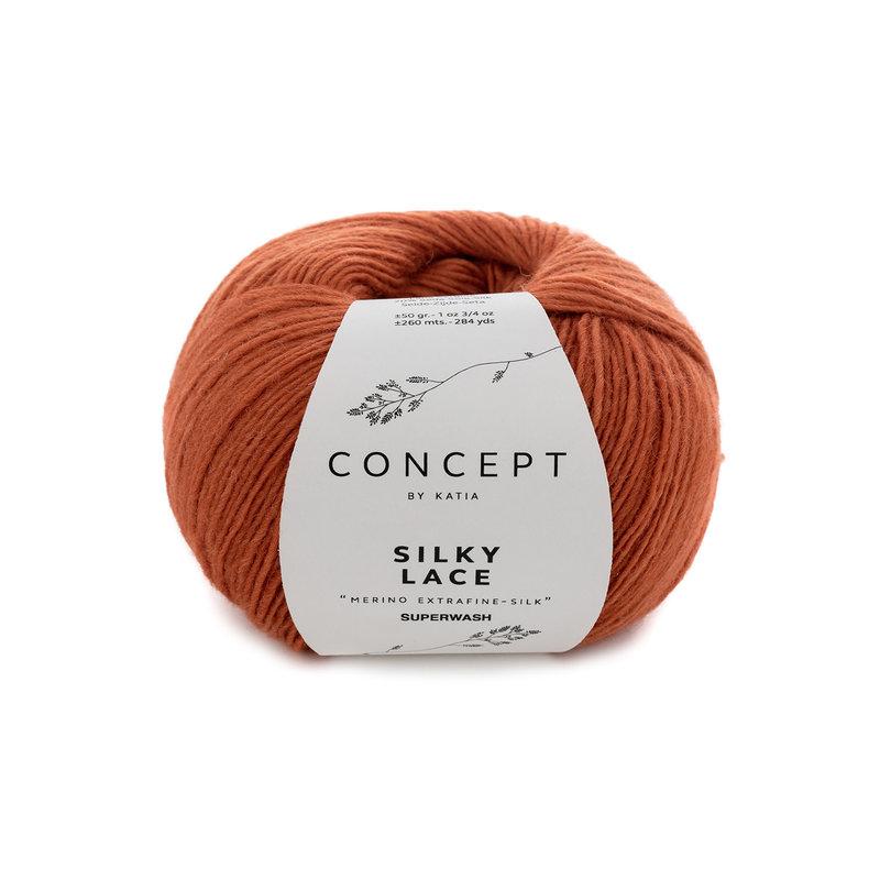 Katia Concept Silky Lace Rust 175*