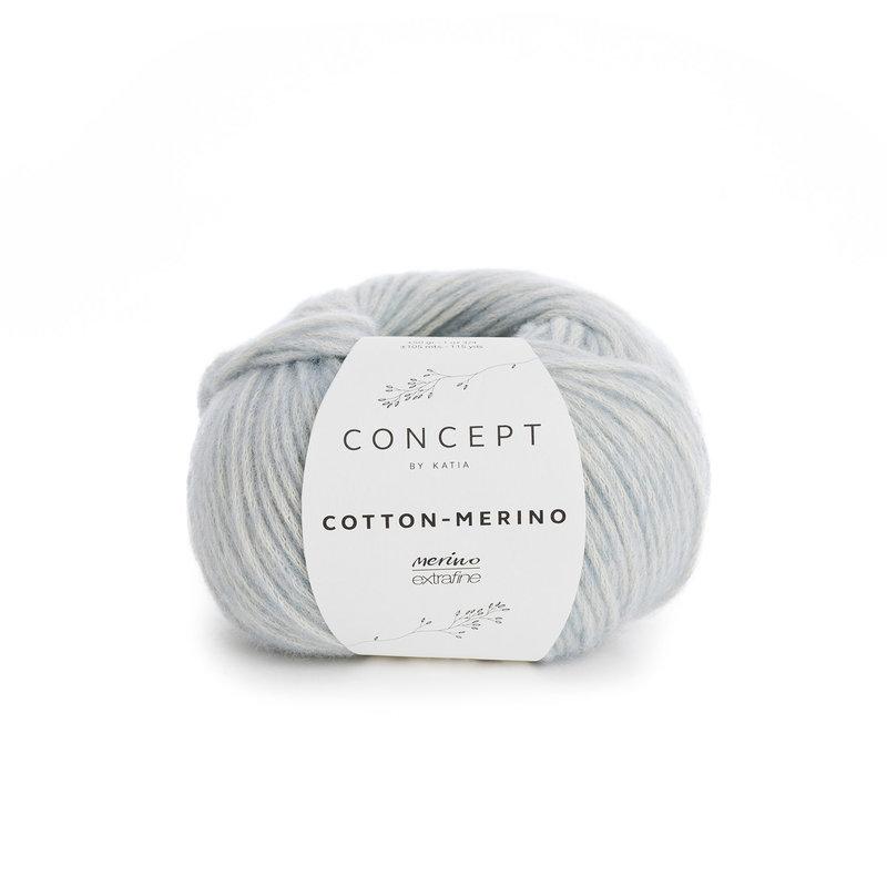 Katia Concept Cotton Merino Sky Blue 127*