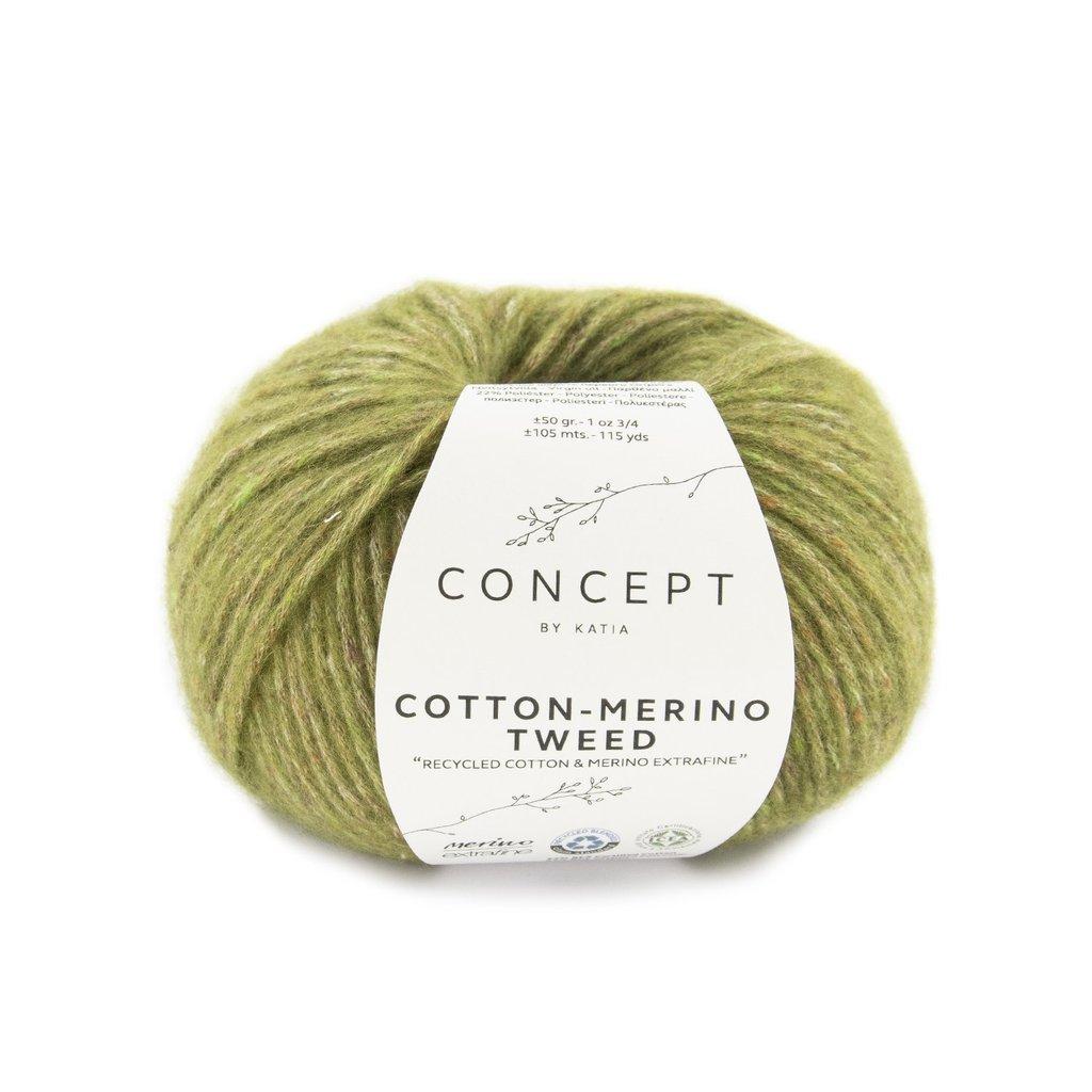 Katia Concept Cotton Merino Tweed