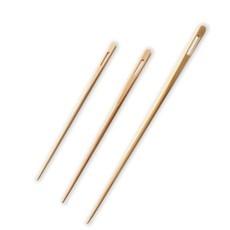 Kinki Amibari Bamboo Blunt Needles (3pc)