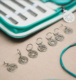 Knitter's Pride 'The Mindful Collection' Chakra Stitch Markers